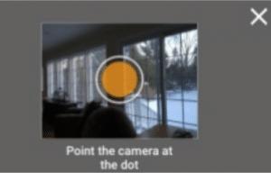 Steetview Orange Dots